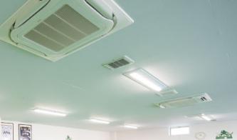 安心の空調設備